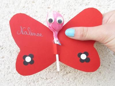 DIY La sucette papillon