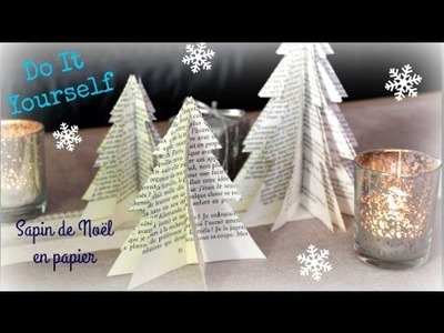 DIY de Noël #1 : Sapin en papier