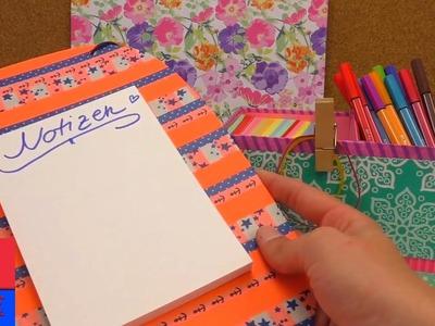DIY Inspiration Challenge #39 Washitape 3 Idées | Kathis Challenge | Tutoriel - Do it yourself HD