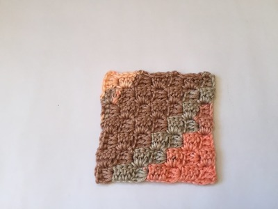 Tuto point Corner C2C au crochet
