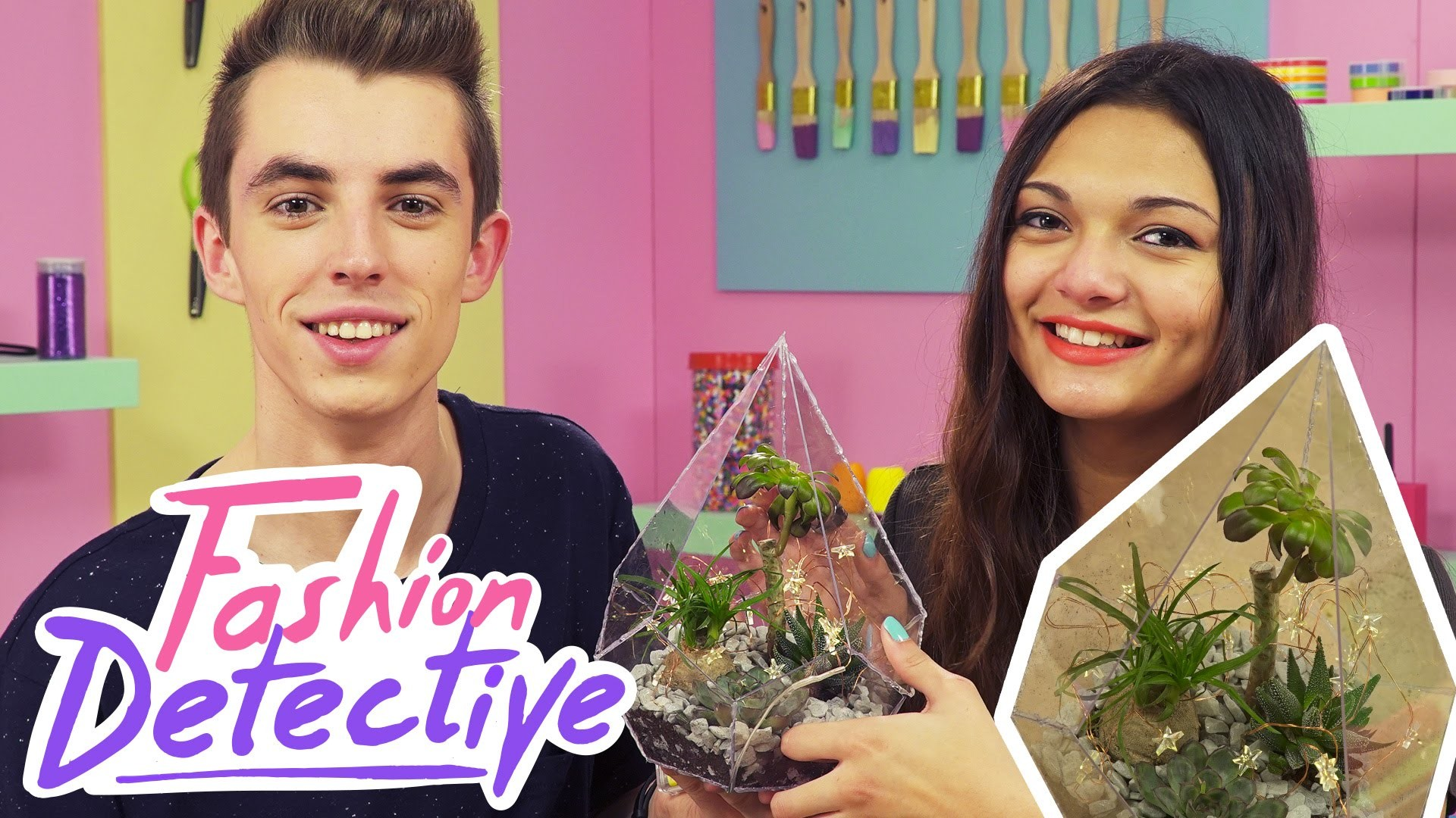 DIY - On crée notre Terrarium - [FASHION DETECTIVE #10]