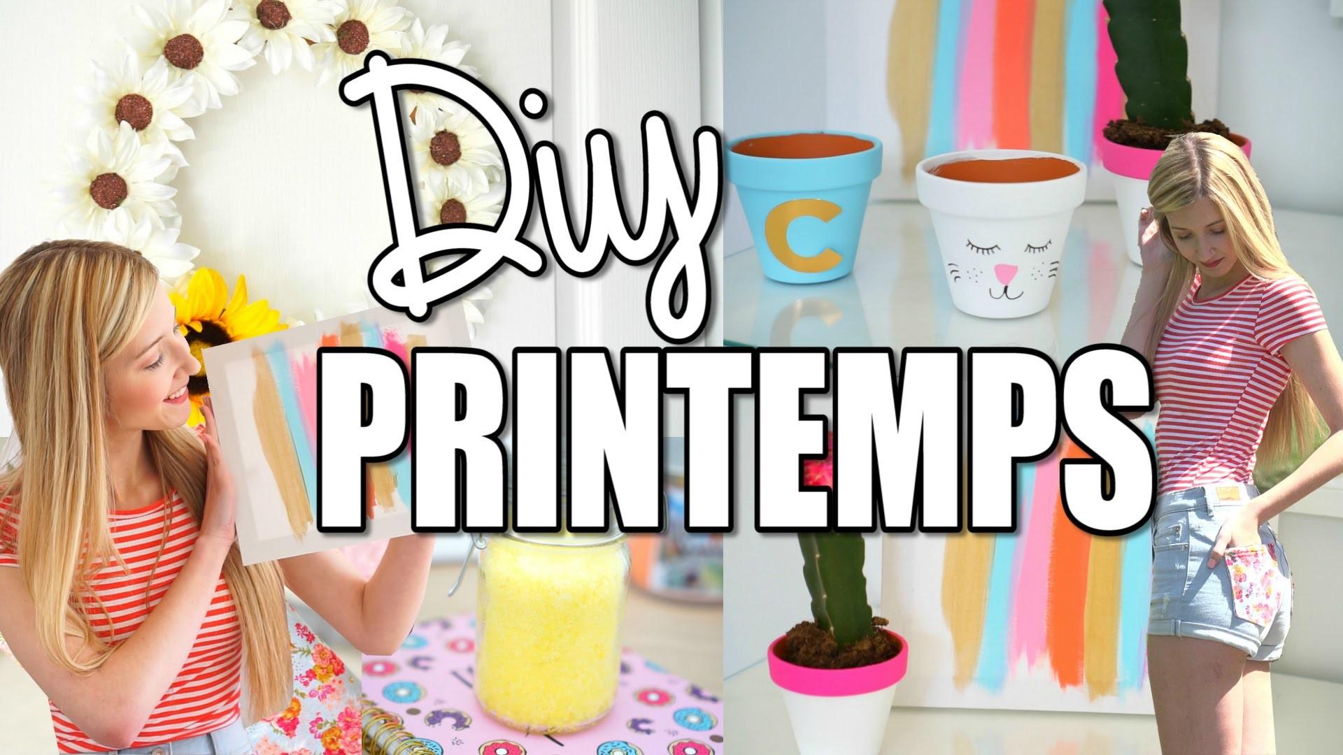 DIY PROJETS DE PRINTEMPS