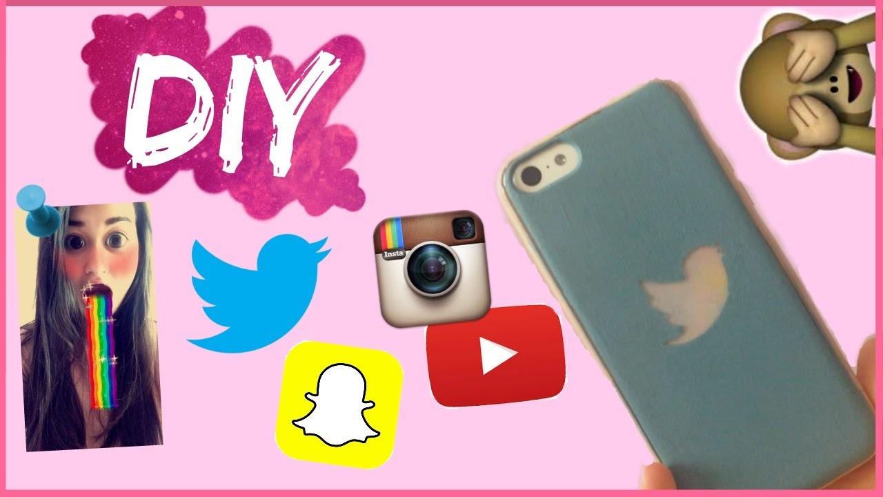 diy spécial twitter instagram snapchat