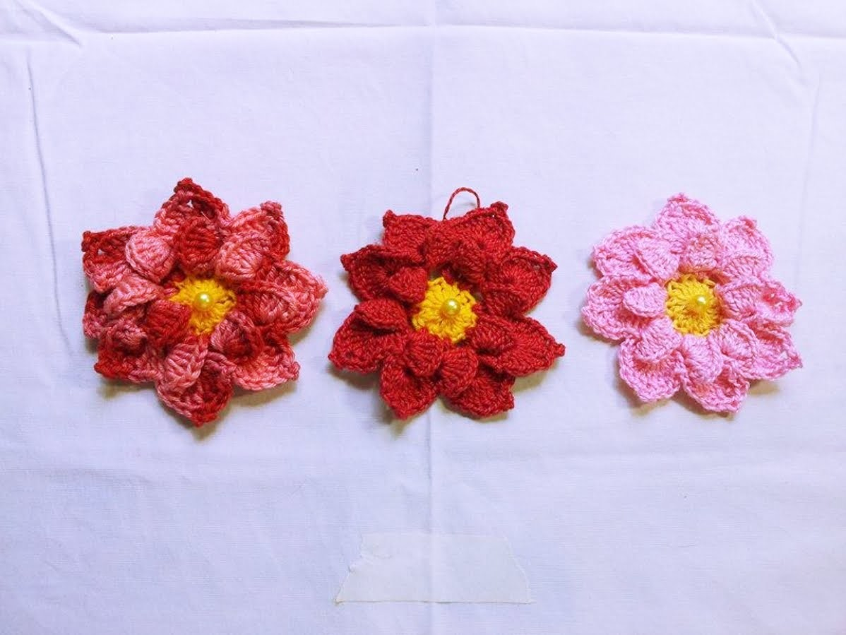 Flor de crochê ( Siry )