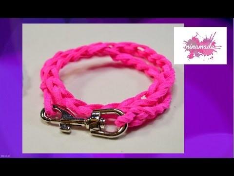 DIY. Bracelet en  crochet. Très facile!!