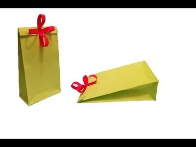 DIY Création boites à cadeaux en papier Noël cadeau