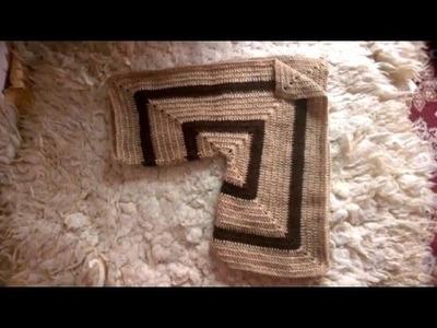 DIY - Gilet magnifique pour femme en crochet تقنية جديدة لعمل تريكو بالكروشي