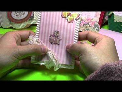 DIY Kitty Garden Cartes de voeux tutoriel 00945+fr