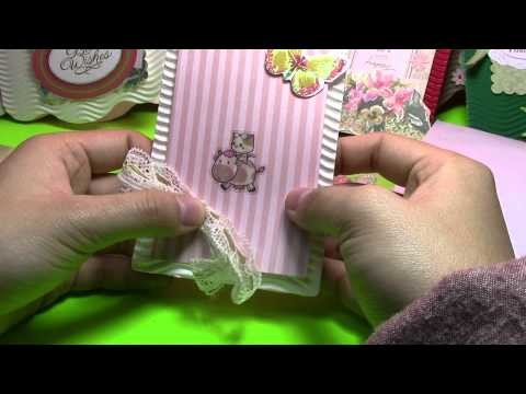 DIY Kitty Garden Cartes de voeux tutoriel 00945+fr
