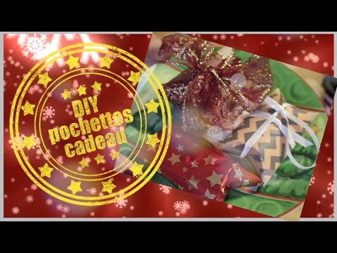 DIY - Pochettes cadeau