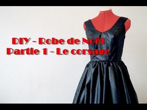 DIY - Robe de Noël - Partie 1: Le corsage