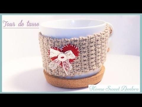 DIY Tour de tasse en crochet