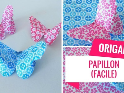 Comment faire un origami papillon (Tutoriel Facile)