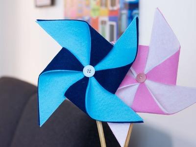 DIY Déco : Moulin à vent décoratif