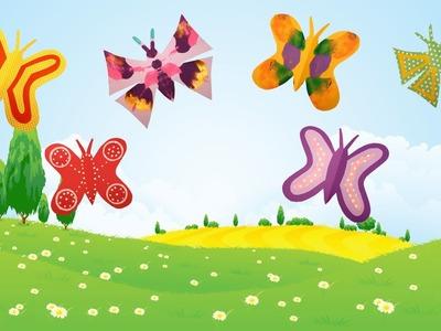 DIY Papillon en papier