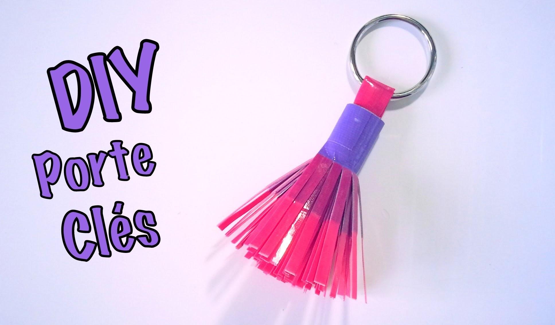 DIY Porte clés Duct Tape