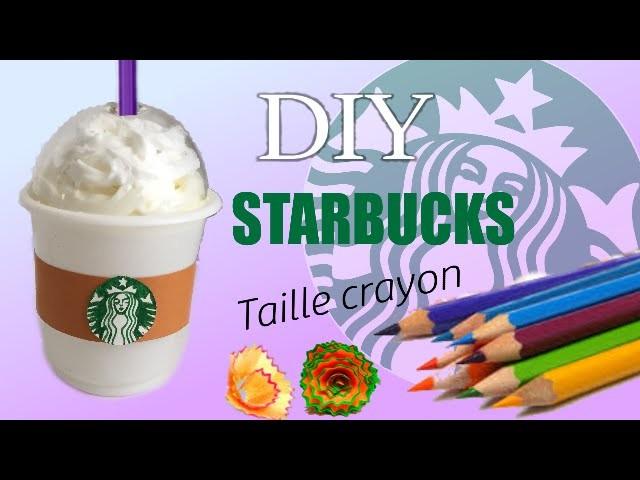 DIY | tuto: taille crayon STARBUCKS