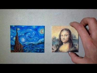 Miniature Art : The Starry Night