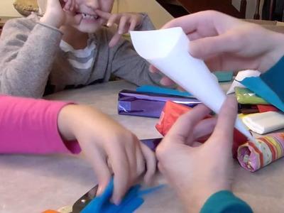 Bricolage enfant et loisir créatif en famille : calendrier de l'avent et petits jeux