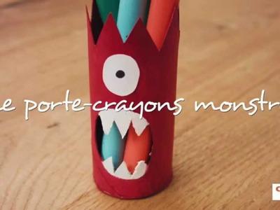 Bricolage - le monstre crayons