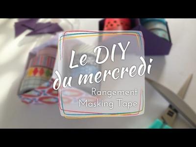 DIY du mercredi #1 | Porte Masking Tape en papier