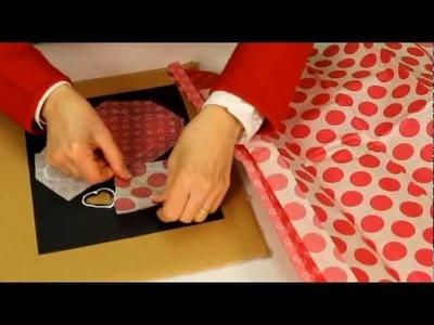 Vitrail en papier: bricolage facile pour la Saint Valentin