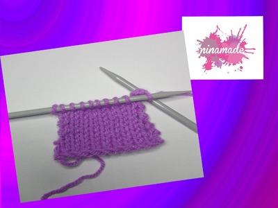 Comment tricoter les mailles endroit-envers.