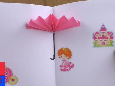 Parapluie en 3D à faire soi-même   Origami   Français   Bricolage