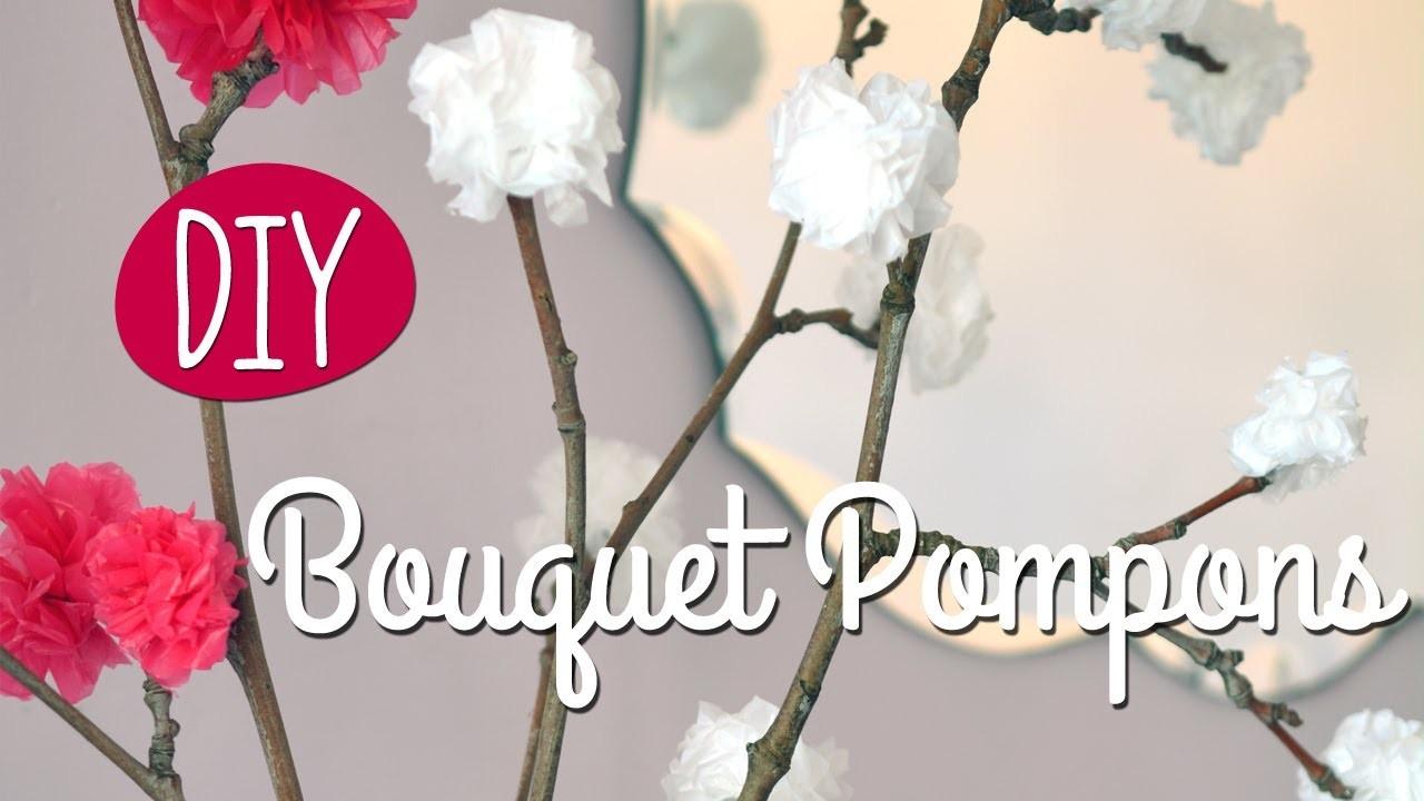 diy faire un joli bouquet de fleurs avec des sacs plastiques. Black Bedroom Furniture Sets. Home Design Ideas