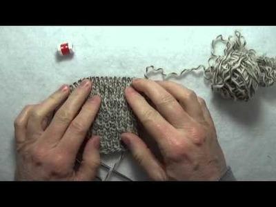 Comment tricoter des gants avec 2 aiguilles circulaires
