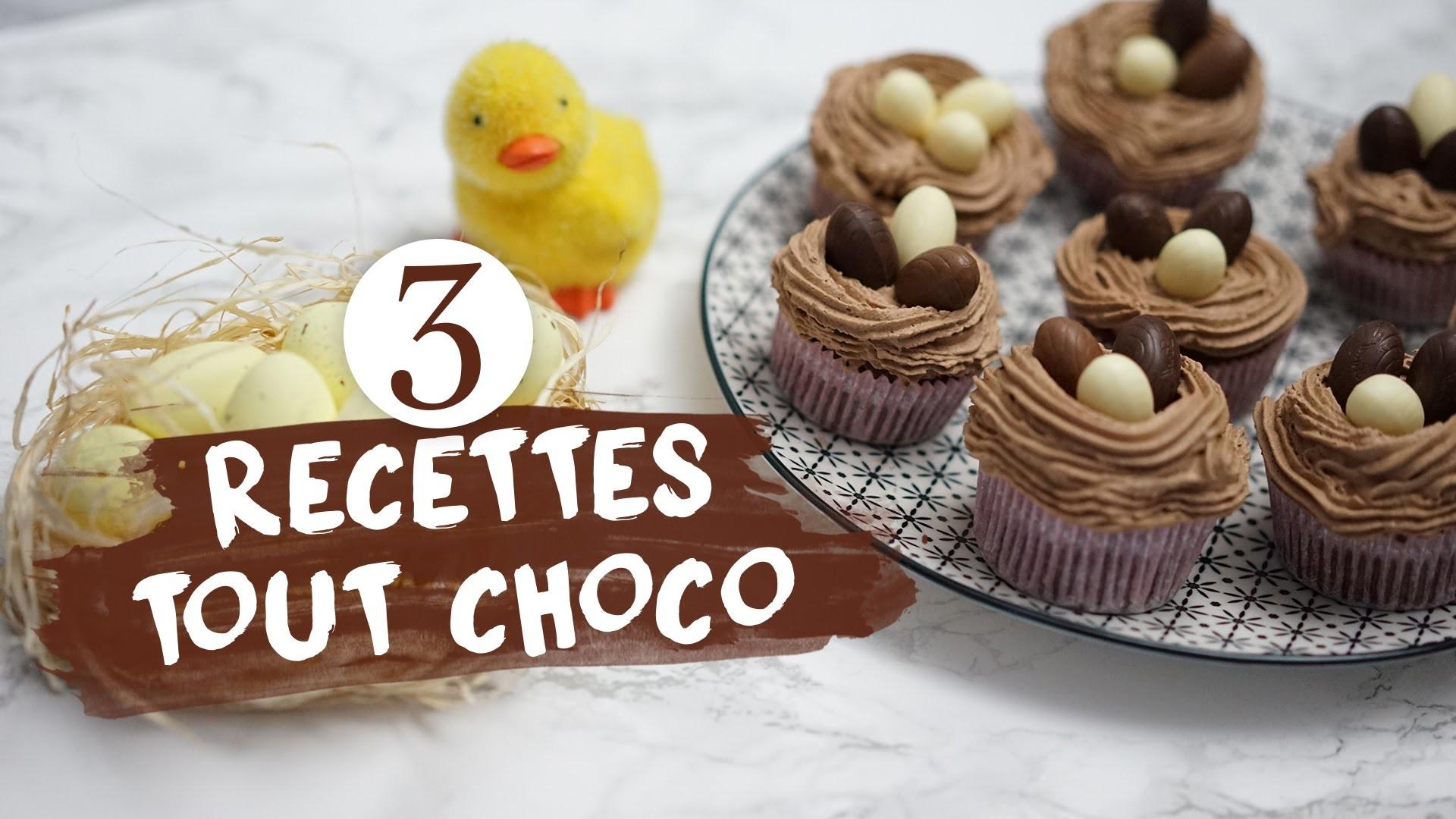 ∞DIY∞ 3 RECETTES TOUT CHOCOLAT ! (avec EstelleBlogMode)