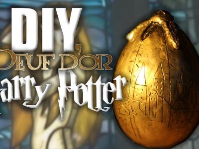 DIY HARRY POTTER - Oeuf d'or. Golden Egg