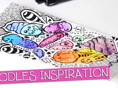 TUTO DESSIN - Doodles et inspiration - Speed drawing