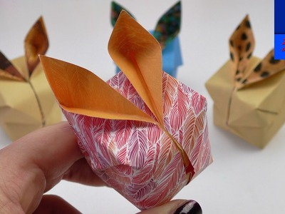 Lapin de Pâques Origami DIY | Lapin mignon en 3D pour les décorations du printemps
