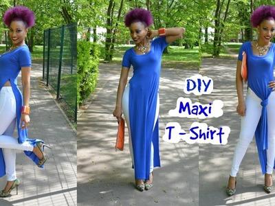 DIY Maxi T-shirt