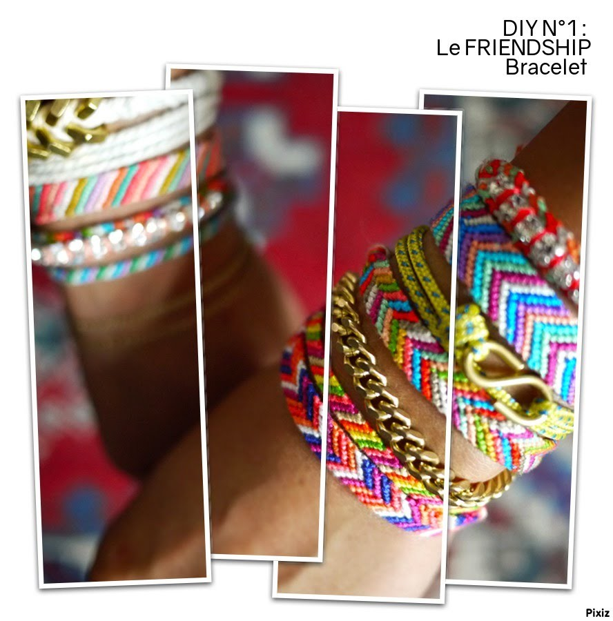 diy n 1 apprendre faire le friendship bracelet. Black Bedroom Furniture Sets. Home Design Ideas