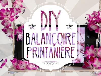 Tuto DIY : une mini balançoire printanière. socle smartphone
