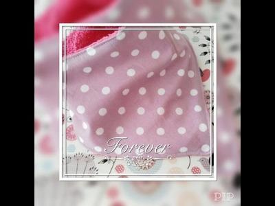 DIY-Tutoriel couture : Bavoir bandana