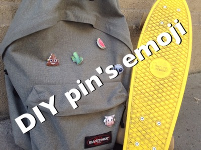 DIY - Pin's Emoji
