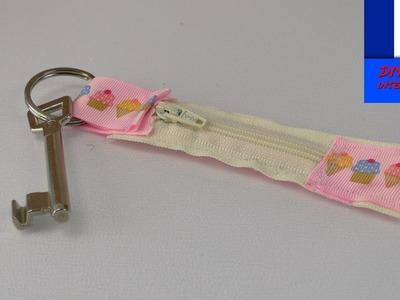 Porte clé DIY avec compartiment secret à coudre |  Idée de porte clé