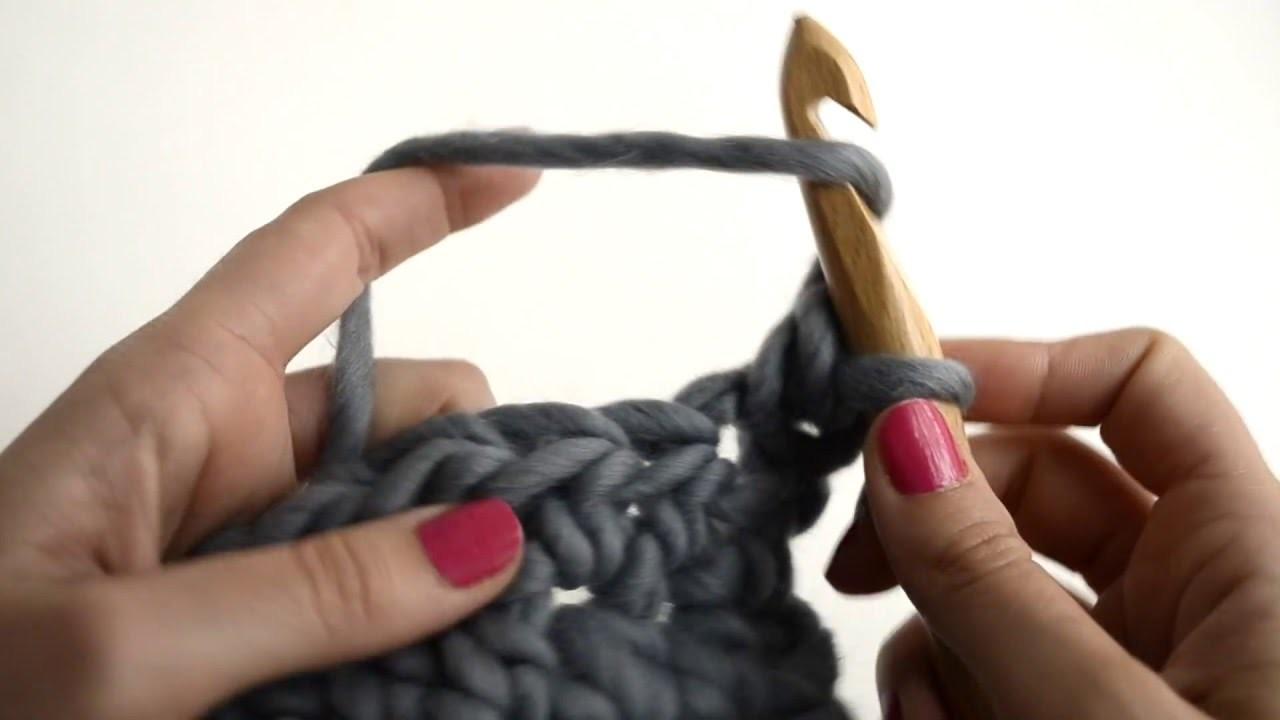 Comment faire une demi bride au crochet we are knitters - Demi bride au crochet ...
