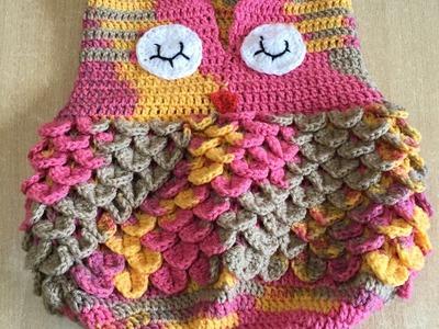 Tuto nid d'ange chouette au crochet