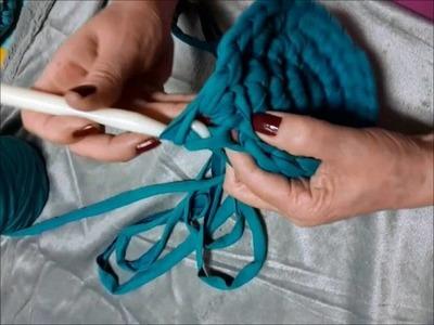 Tutorial cesto crochet trapillo