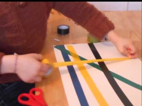 [DIY] Lignes en scotch et coloriage - jourapresjourjegrandis.fr