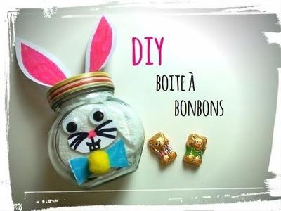 Pâques - diy boite à bonbons lapin