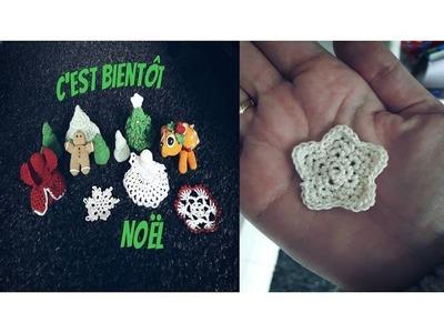♫♪ J'avais envie de … Noël au crochet #3 L'Etoile ♫♪