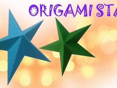Origami facile - Étoile 3D