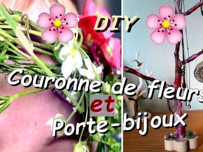 [ DIY n°1 ]: Couronne de fleurs et porte-bijoux