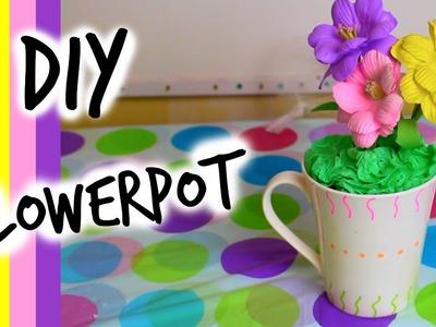 DIY room decor : flowerpot - |Français|