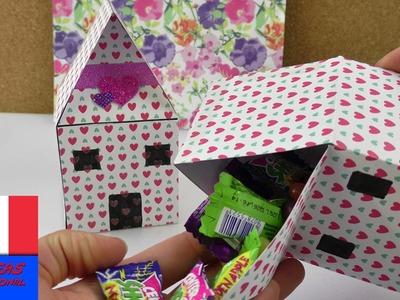 DIY Emballage cadeau | Maison à fabriquer soi-même et à remplir avec des bonbons